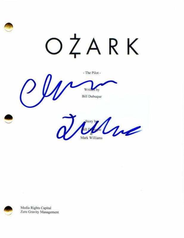 CHARLIE TAHAN SIGNED AUTOGRAPH - OZARK FULL PILOT SCRIPT - WYATT LANGMORE