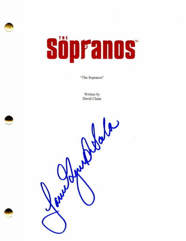 JAMIE-LYNN SIGLER SIGNED AUTOGRAPH - THE SOPRANOS PILOT SCRIPT - FULL SIGNATURE