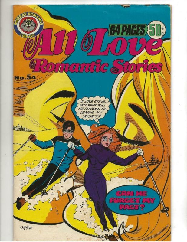 All Love Romantic Stories #34 1970
