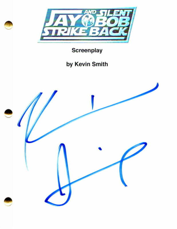 KEVIN SMITH SIGNED AUTOGRAPH - JAY AND SILENT BOB STRIKE BACK FULL MOVIE SCRIPT