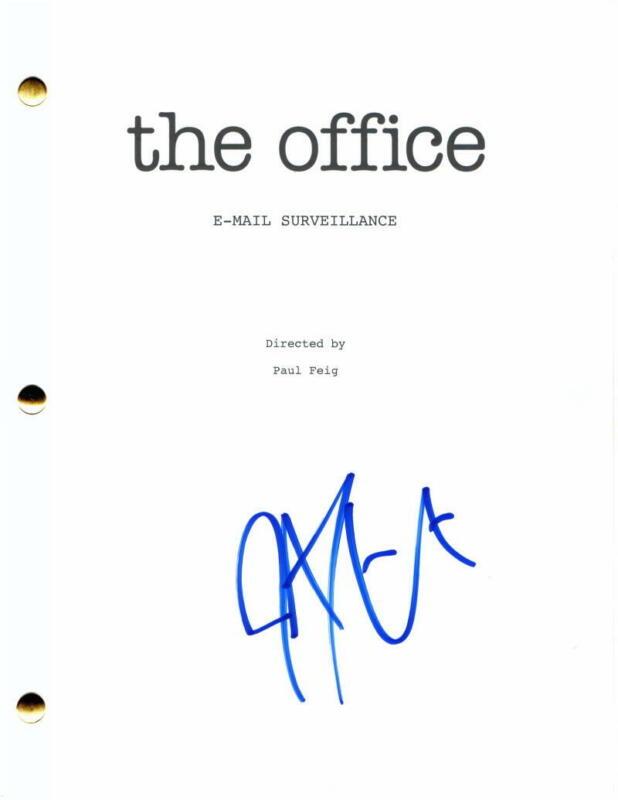 JOHN KRASINSKI SIGNED AUTOGRAPH THE OFFICE FULL EPISODE SCRIPT - JIM HALPERT