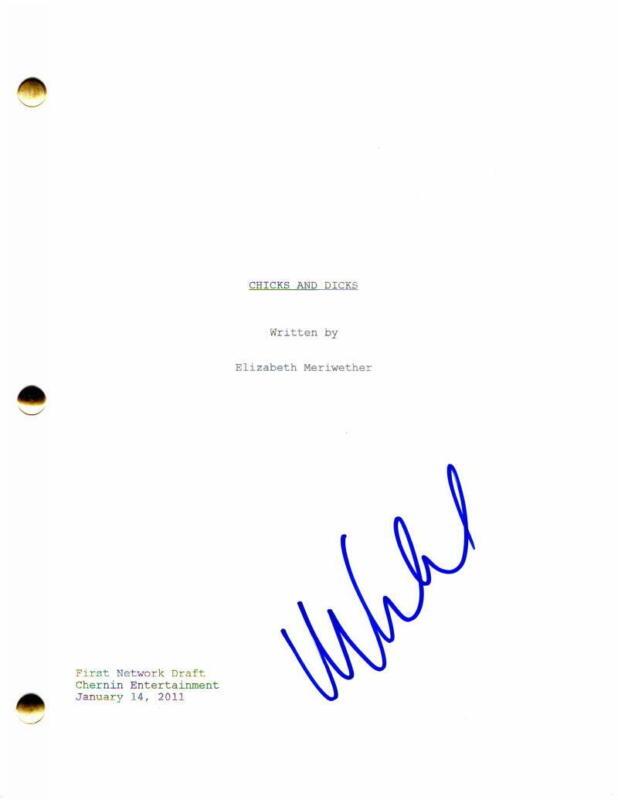 MAX GREENFIELD SIGNED AUTOGRAPH - NEW GIRL PILOT SCRIPT -SCHMIDT ZOOEY DESCHANEL