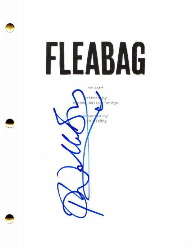 PHOEBE WALLER-BRIDGE SIGNED AUTOGRAPH - FLEABAG FULL PILOT SCRIPT - KILLING EVE