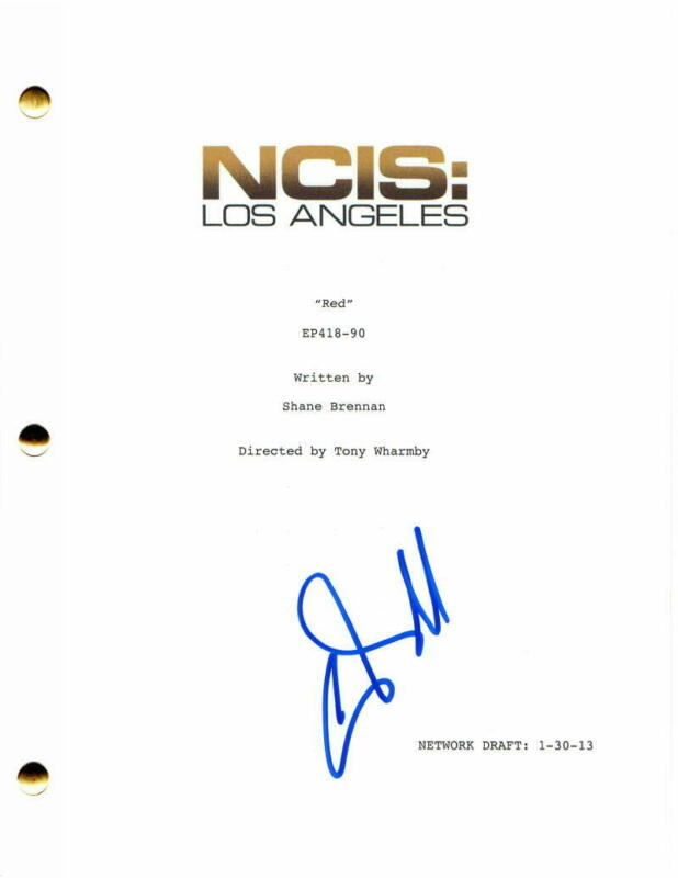CHRIS O'DONNELL SIGNED AUTOGRAPH - NCIS: LOS ANGELES EPISODE SCRIPT - LL COOL J