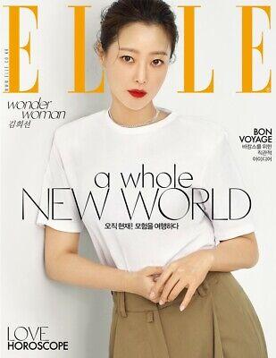 ELLE Korea August 2019 Whole Magazine Random Cover Jung Hae In K-Drama Tracking