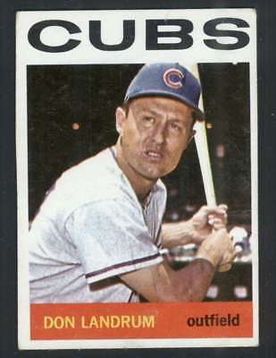1964 Topps  286 Don Landrum Vgex Cubs 34224