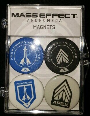 Dark Horse Mass Effect Andromeda Mini with Case Magnetic Buttons MIP