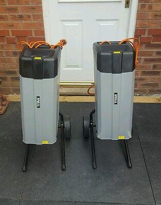 Titan TTB353SHR 2500W 80kg/hr Electric Garden Shredder