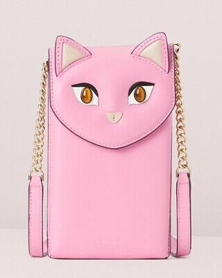 NEW! Kate Spade Meow CAT North South Phone Crossbody NWT!
