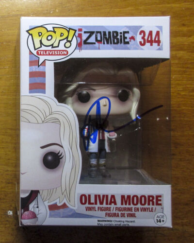 *iZombie* Rose McIver Signed Olivia Moore 344 Funko Pop JSA COA