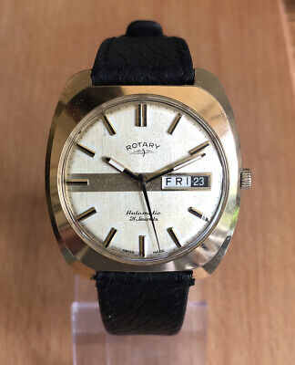 vintage Rotary automatic mens watch working