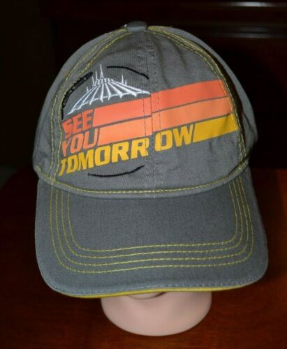 Disney Space Mountain See You Tomorrow Baseball Cap Hat Adult New