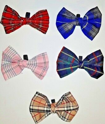 quality fabric pet accessories dog toys UK post (Dog Bow Ties)