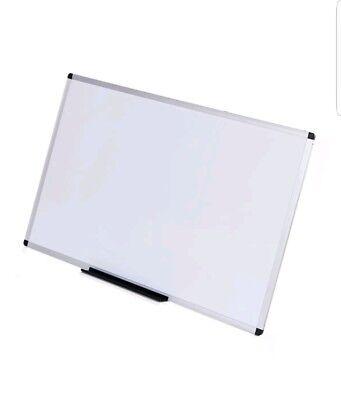 Viz-pro Dry Erase Board Melamine36 X 24 Inches Silver Aluminium Frame