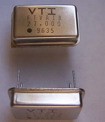 Vectron Crystal Oscillators 27.000 Mhz 100 Pcs