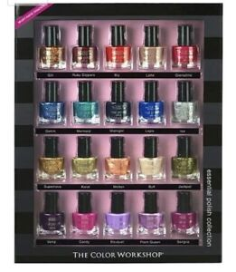 The color Workshop Nail Boutique Fashion Shades 20-pc-Set BNIB