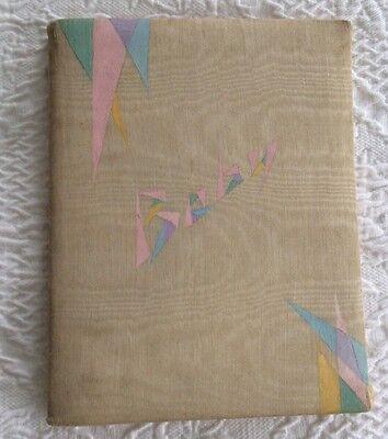 Vintage Baby Memory Keepsake Book Queen Holden  1927 HTF