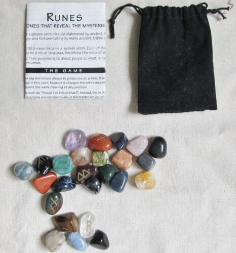 Lost Mountain Ancient Runes Stones Mixed Varieties Collectible