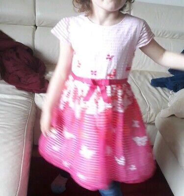 hen Kleid Festkleid Abendkleider Ballkleid Gr.122  (Mädchen-blumen-mädchen-kleid)