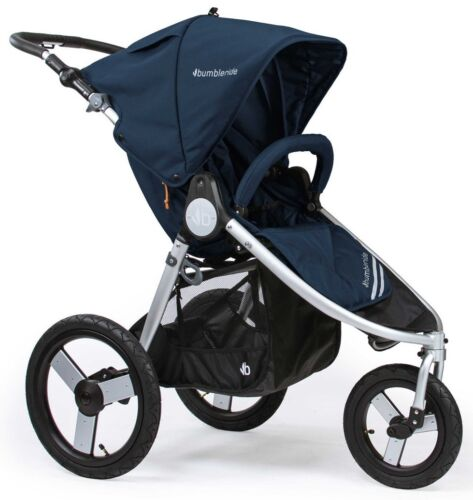 Bumbleride Speed Smooth Push Baby Jogger Jogging Stroller Maritime Blue New