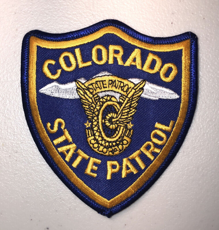 Colorado State Patrol Trooper Police Patch