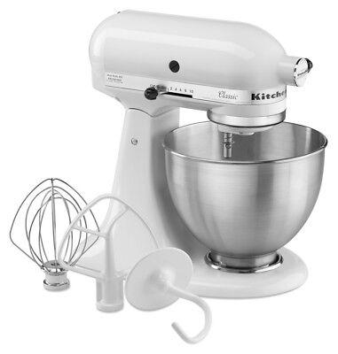 KitchenAid Küchenmaschine 5K45SSEWH CLASSIC 275 Watt nur in Weiss