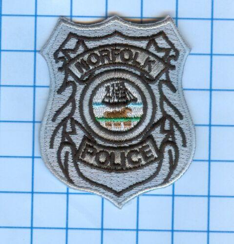 "Police Patch  - Virginia - Norfolk Police - 2 1/2 X 2 1/2"""