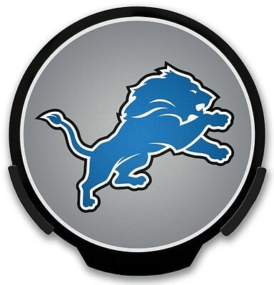 Detroit Lions Night Light - Detroit Lions Light-Up Power Decal [NEW] NFL Car Auto Night Light Emblem CDG