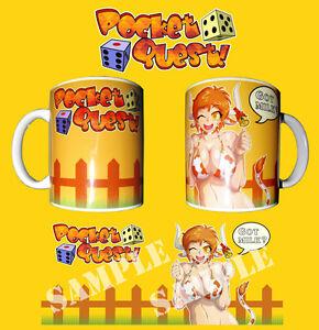 Karol-Sister-Pocket-Quest-Nono-Rpg-Maker-Game-Cow-Girl-TAZZA-CERAMICA-MUG-CUP