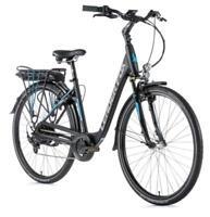 "E-Bike Leader Fox PARK CITY 28"", Pedelec 20"" SCHWARZ MATT/BLUE Nordrhein-Westfalen - Soest Vorschau"