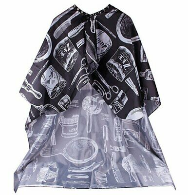 Hair Cutting Cape Large Salon Hairdressing Hairdresser Gown Barber Cloth Black Health & Beauty