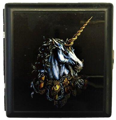 Evil Unicorn (Eclipse Evil Unicorn Crushproof Metal Cigarette Case, Kings)