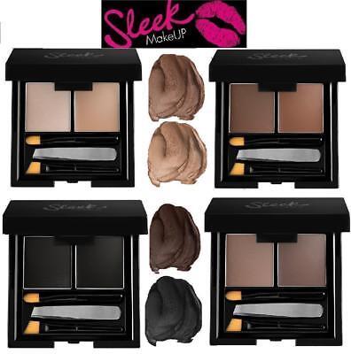 Brow Shaper Kit (Sleek Makeup Brow Kit with Eyebrow Powder Highlighter- Tweezers, Shaper Brush!!!)