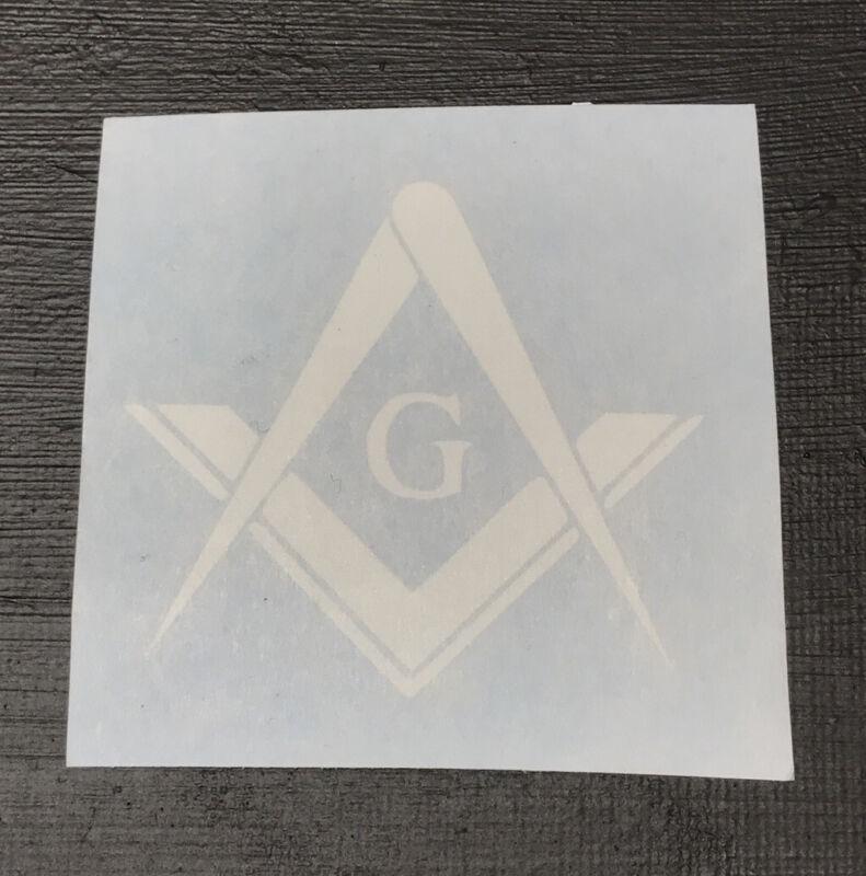 Freemason Decal Sticker Master Mason 3rd Degree York Rite Scottish Rite