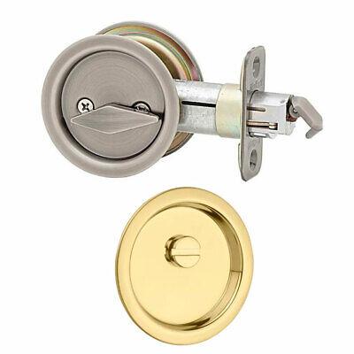 Kwikset 335 Privacy Pocket Door Lock Pocket Door Lock; Polis