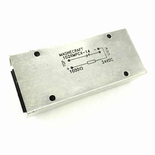 Magnecraft 102RMPCX-14 Power Reed Relay, 24VDC 102RMPCX14