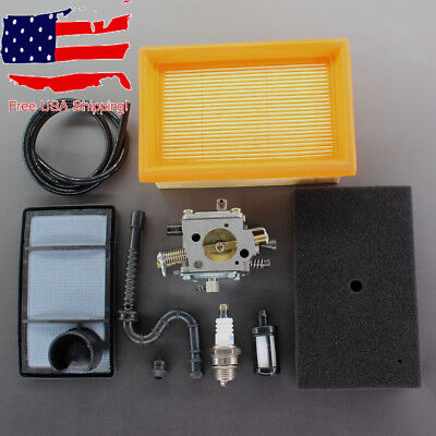 Carburetor Air Fuel Filter For Stihl Ts400 Concrete Cut-off Saw 4223 120 0600