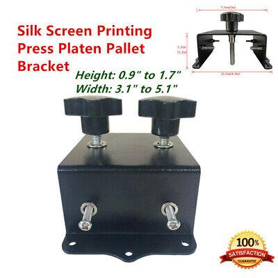 Us Silk Screen Printing Press Platen Pallet Bracket Screen Printing Tools Diy