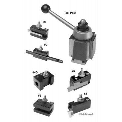 Aloris Series Ca Tool Post Holder Set For 14 To 20 Lathe Swing 4-set 7 Pc