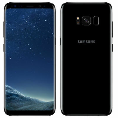 Samsung Galaxy S8 SM-G950N - 64GB - Midnight Black (Unlocked) REFURBISHED