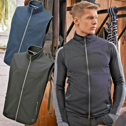 SALE! 💙 Noble Equestrian Mens Bramham Fleece Vest / Gilet /Body Warmer QUALITY