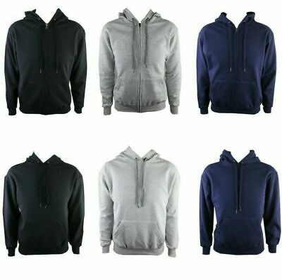 Fruit of the Loom Jacke Kapuzen Zip Hoodie Kapuzenpullover Sweatshirts Hoody Zip Pullover Jacke