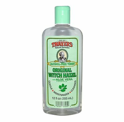 Thayers Witch Hazel with Aloe Vera, Alcohol Free, Original 12 oz...