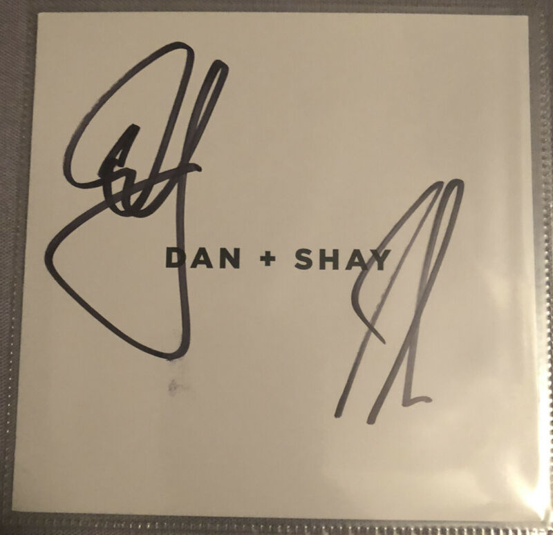 Autographed DAN & SHAY Self-Titled CD SIGNED AUTHENTIC