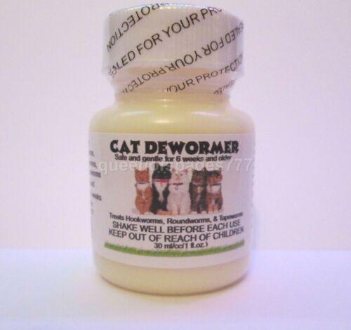 OTC Cat Kitten Wormer-  Broad Spectrum Pet Dewormer- Treats worms in one dose