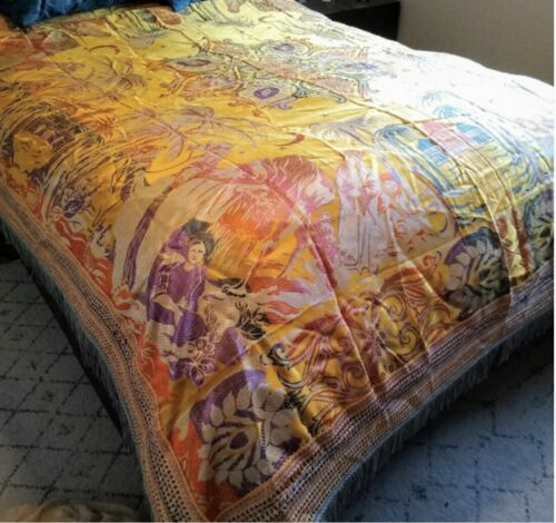 new bed coverlet made in italy 86by92