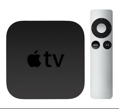 Apple TV 3rd Generation Wireless Streaming FHD 1080p HDMI AirPlay A1469 / A1427 (Apple Airplay Tv)