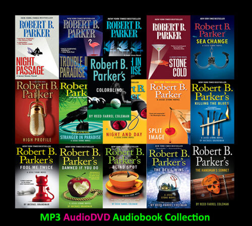 The JESSE STONE Mystery Series By Robert B. Parker (18 MP3 Audiobook Collection)