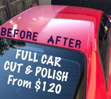 WE COME TO YOU CAR DETAILING INSIDE AND OUT!