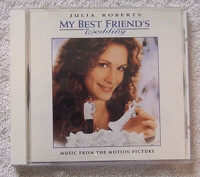 My Best Friend's Wedding (CD, 1997) Movie Soundtrack Very Good